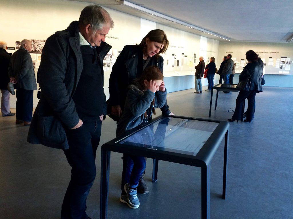 visiteurs-mémorial-Izieu
