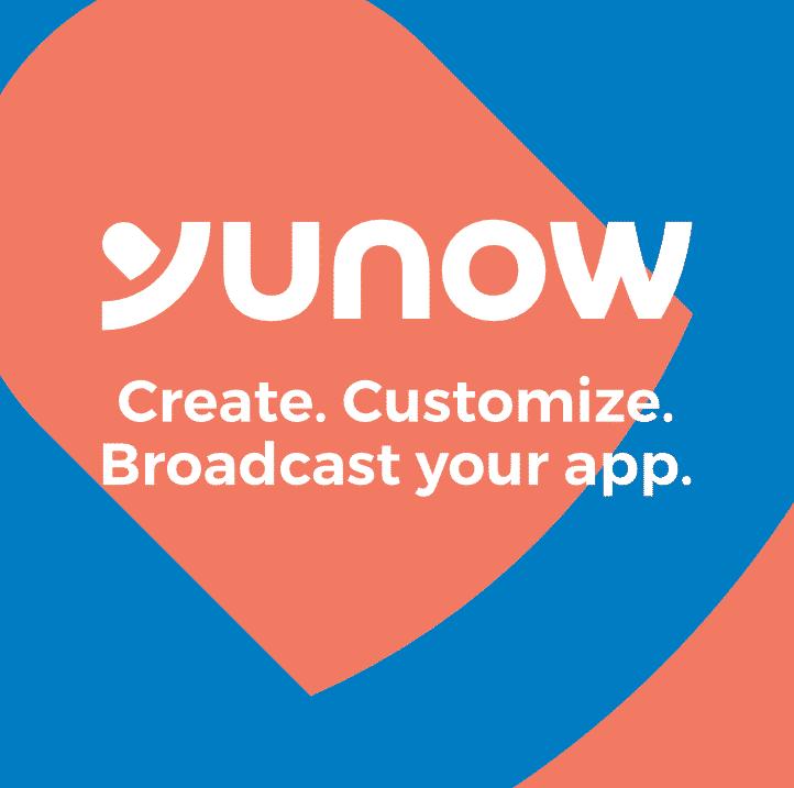 Create. Customize. Broadcast your app.